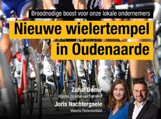 Nieuwe wielrtempel in Oudenaarde